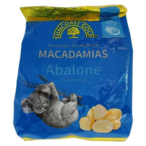 Macadamias Abalone Flavoured 300g