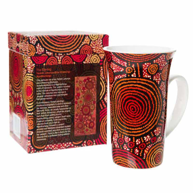 Aboriginal Art Mug Cup Teddy G