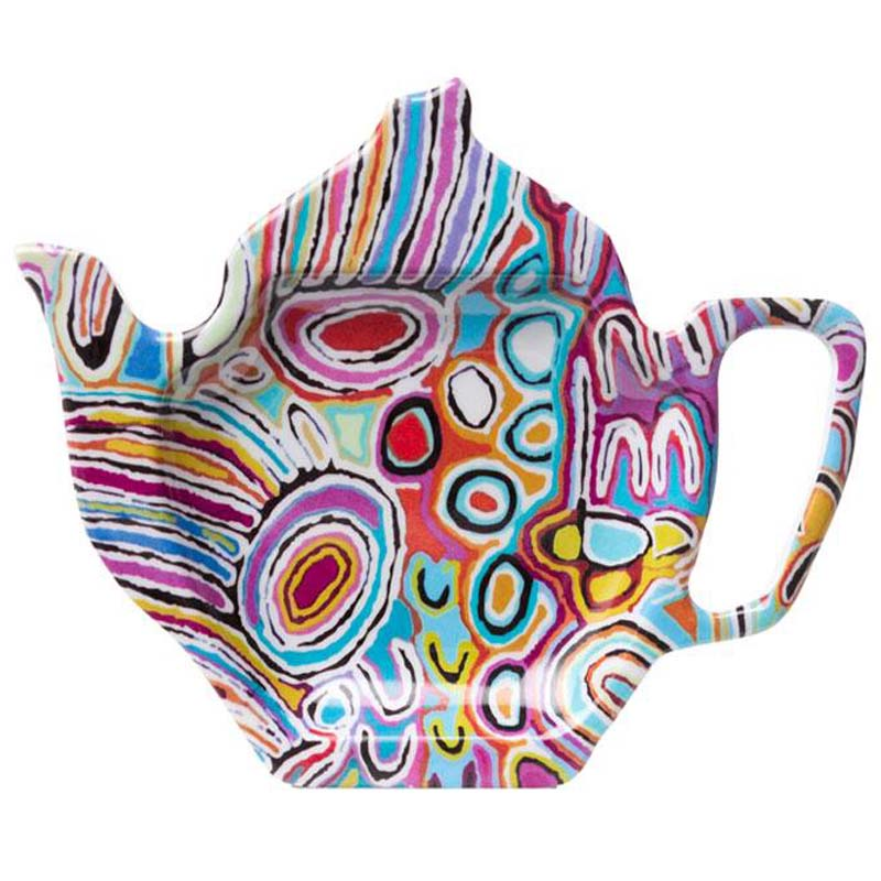Aboriginal Art Tea Bag Holder Judy W