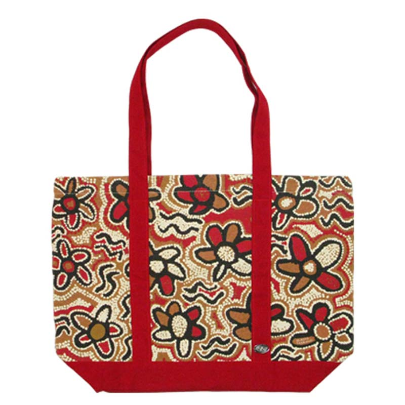 Tote Bag - Gladys T Red