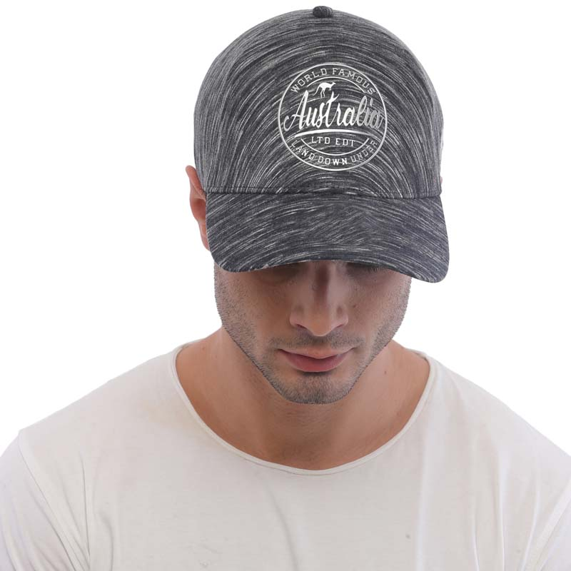 Cap Australia Dark Grey