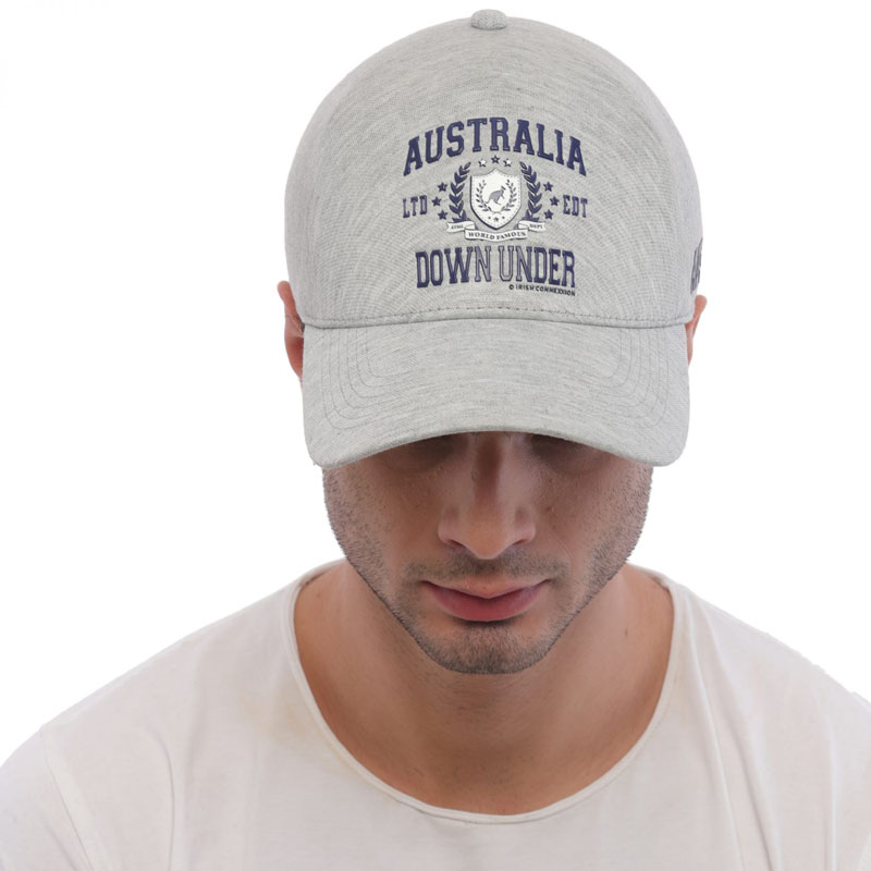 Cap Australia Light Grey