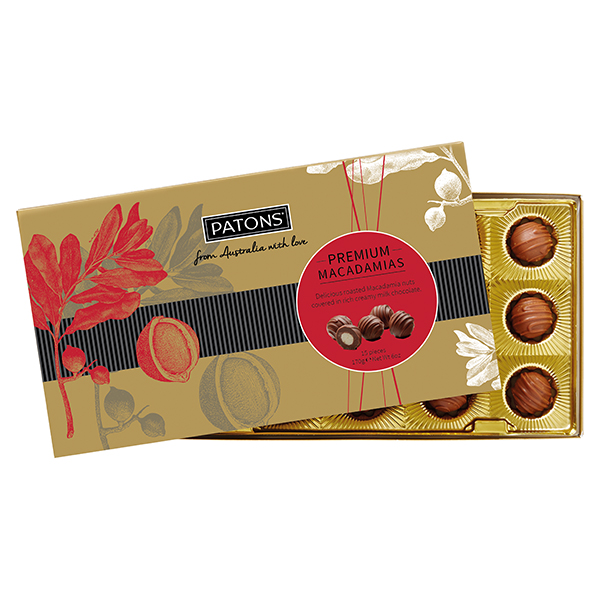 Patons Macadamia Milk Chocolate 15 Pieces