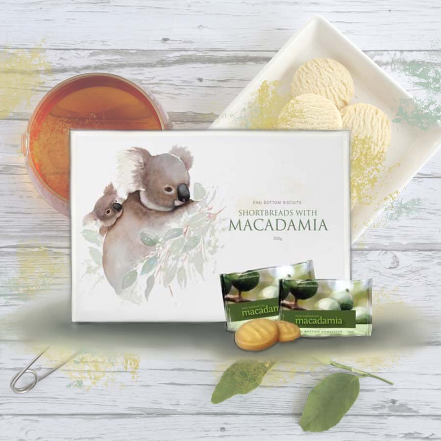 Shortbreads with Macadamia 20 Pieces