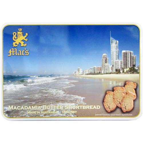 Macadamia Butter Shortbread 150g (Surfers Paradise)