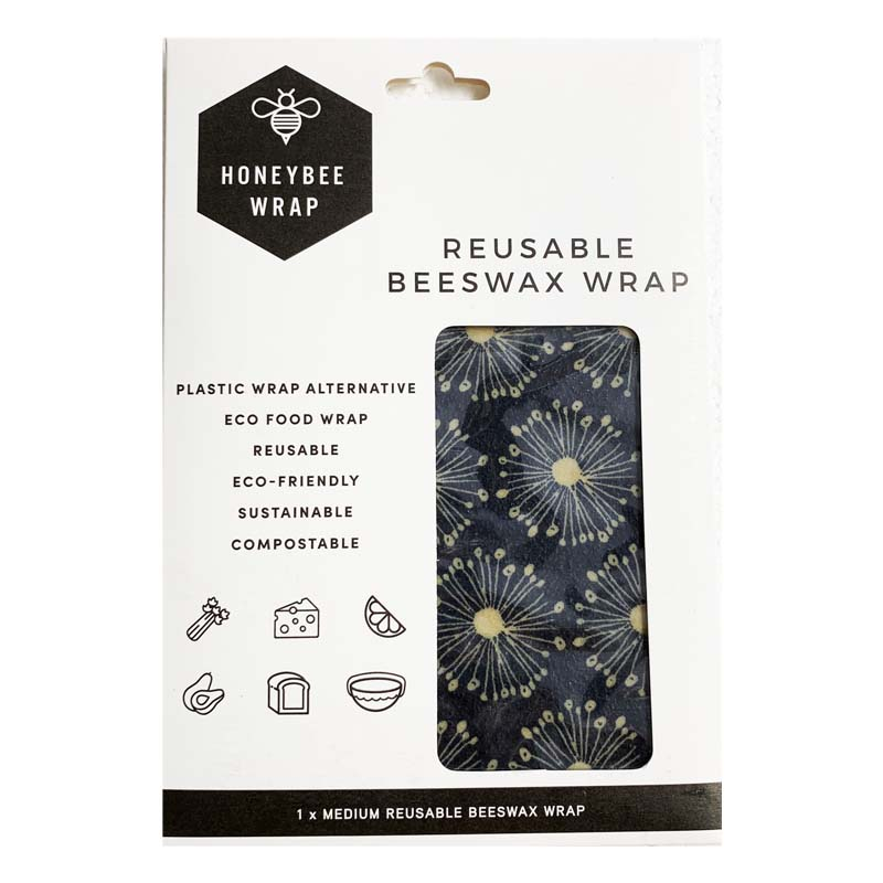 Honeybee Wrap Flower Navy size M