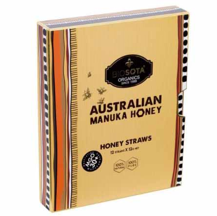 Australian Manuka Honey MGO150+ 12g x 12straws
