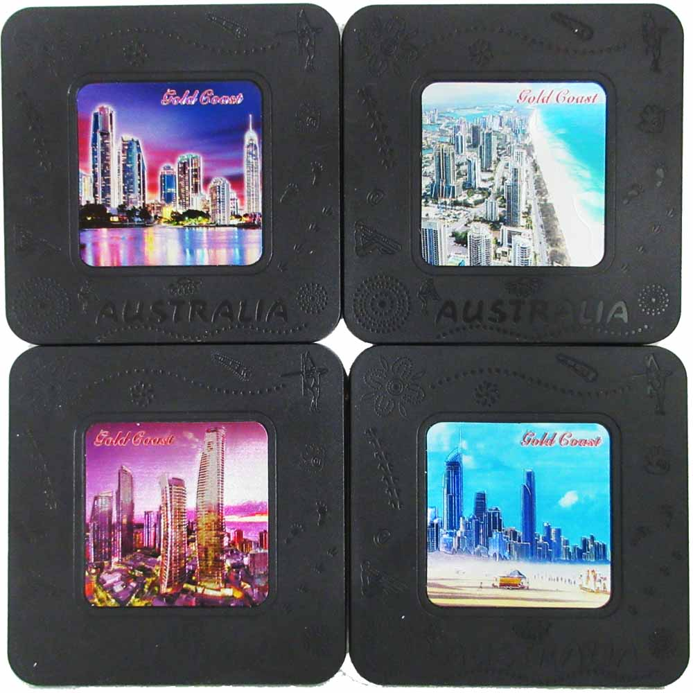 Coaster 4 piece set (Gold Coast)