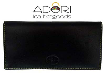 Long Wallet Black (Yellow Stitch) KWC2098