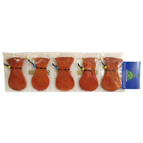 Kangaroo Scrotum Coin Case Set of 5