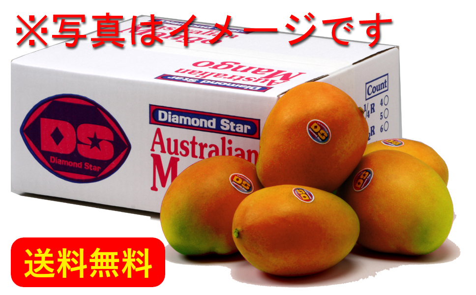 Australian Mango 2.0kg (4-6 mangoes : Japan Delivery Only)