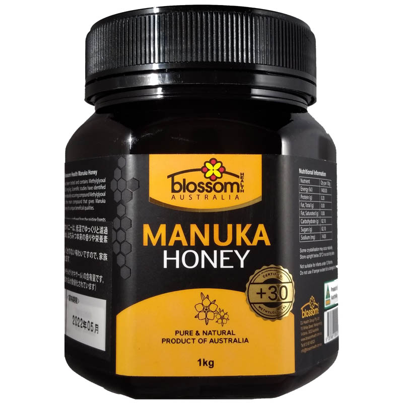 Blossom Health Manuka Honey 1kg x 1 Jar (+30)