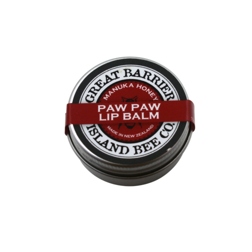 Great Barrier Island Bee Lip Balm Paw Paw 15g