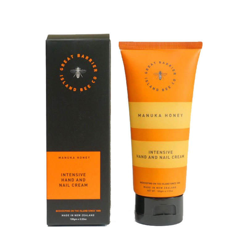 Great Barrier Island Bee Manuka Honey Intensive Hand and Nail Cream 100gm