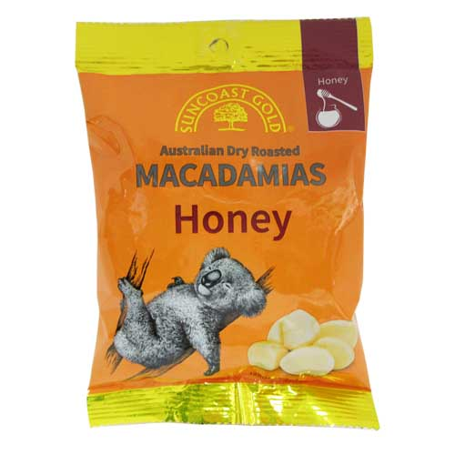 Macadamias Honey 125g