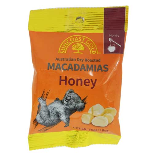 Macadamias Honey 50g