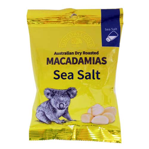 Macadamias Sea Salt 125g
