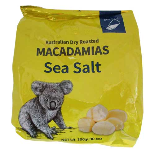Macadamias Sea Salt 300g