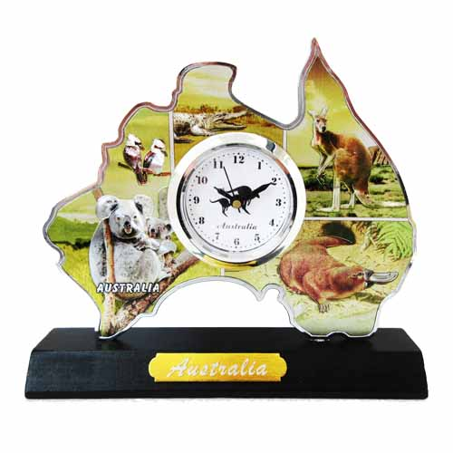 Australia Tabletop Clock (Animal)