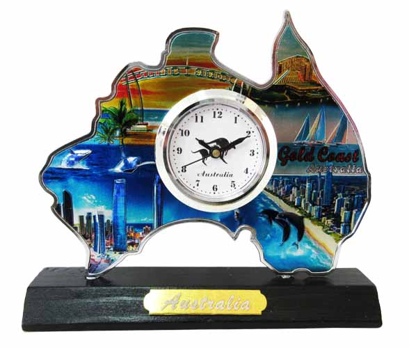 Australia Tabletop Clock (Gold Coast)