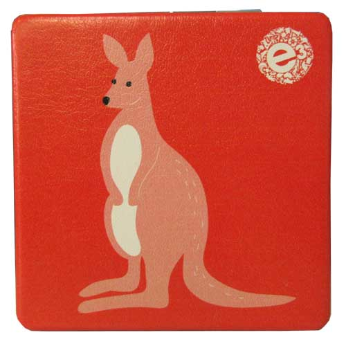 Pocket Mirror Kangaroo