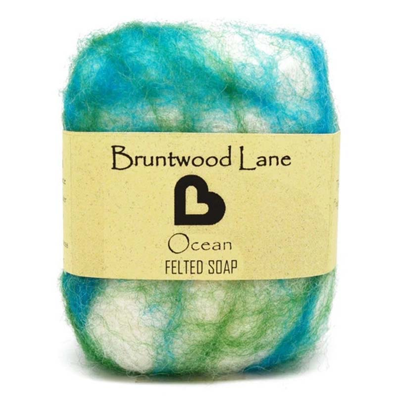 Felted Soap Ocean
