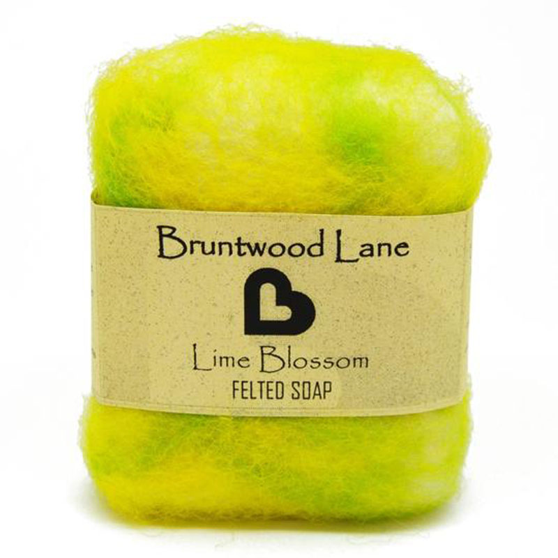 Felted Soap Lime Blossom