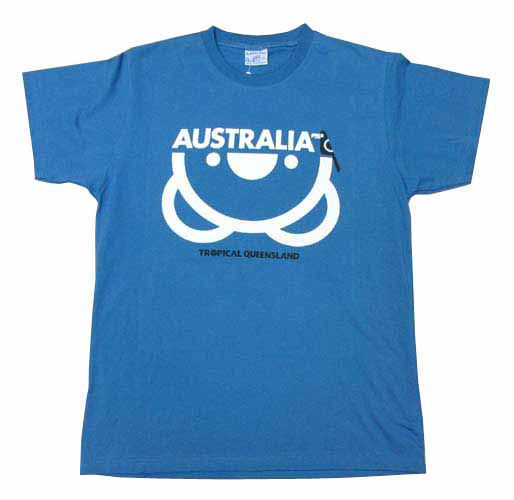 Men's Upside Down Koala T-Shirt (Petrol)